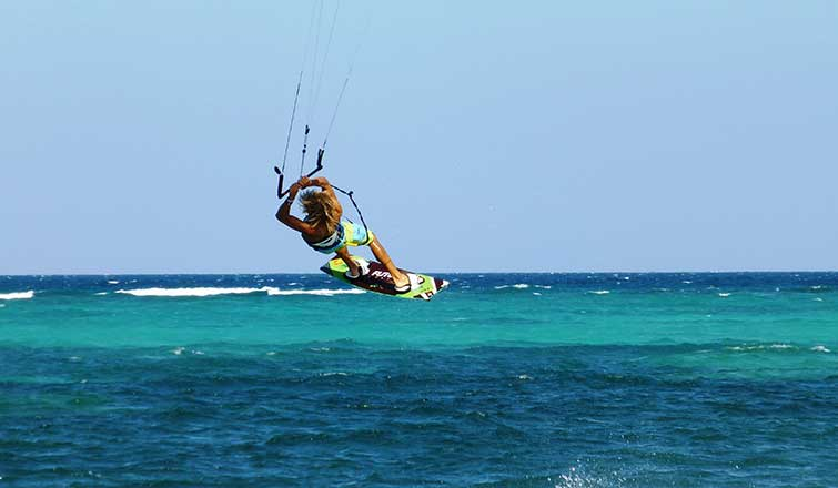 Windsurfing Reef Retreat Boracay